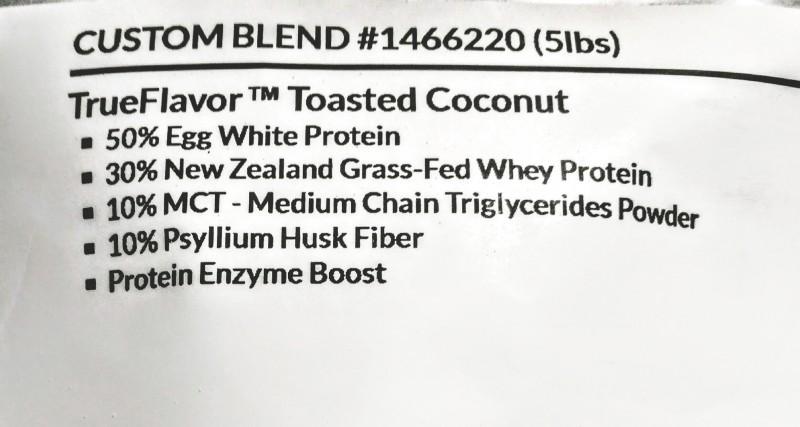 Custom Protein Shake