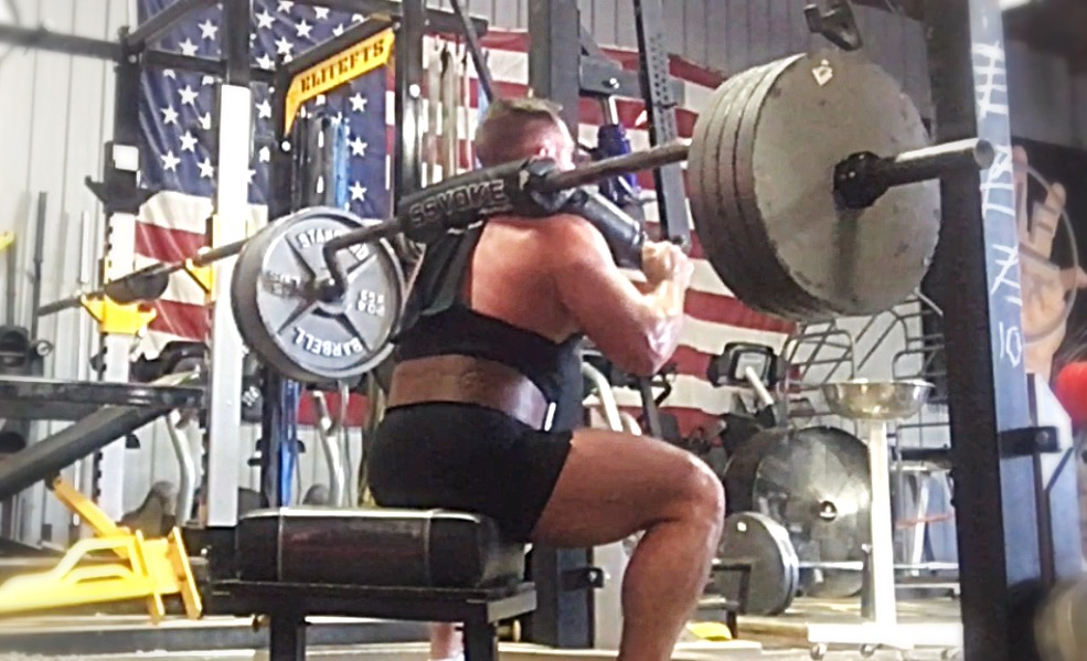 If in Doubt, Focus on Speed.. Dynamic Effort Box Squats in Briefs.