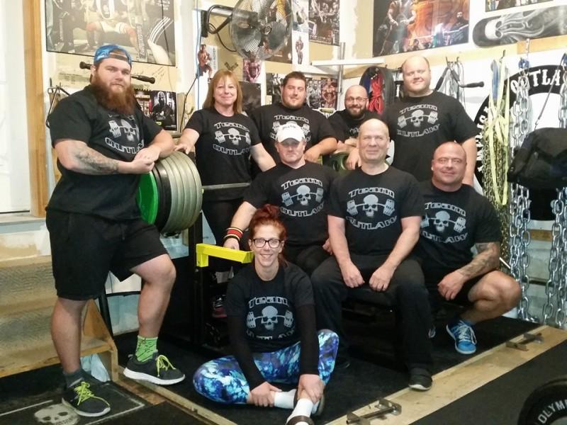 powerlifting team