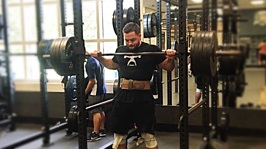 %-Based Week for Squats, Pushing for Rep Counts on These Days.