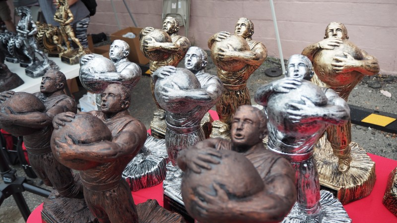 How to Run a Great Strongman Contest, trophy