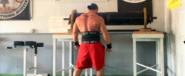Week 10, Day 2 - Log, Chest, Shoulders, Arms - (Deload)