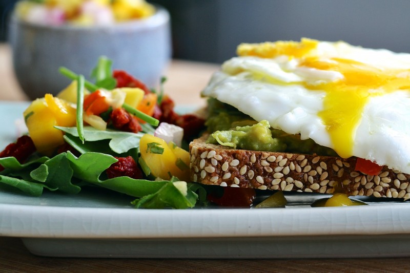 eggs and grain