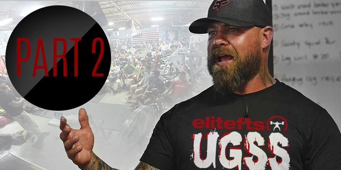 WATCH: Wendler's UGSS Presentation — Training Standards and Injury Management for Kids