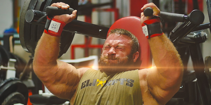WATCH: Justin Harris Shoulder Training