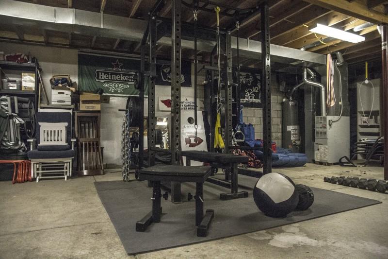 matt goodwin home gym