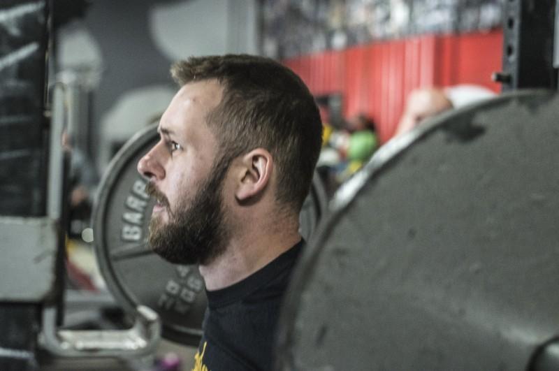 personal training squat alex