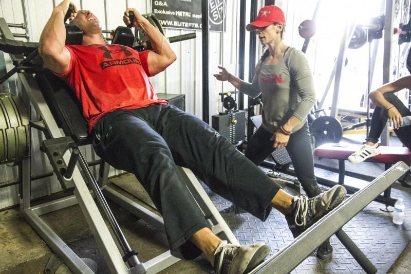 hack squat lactate