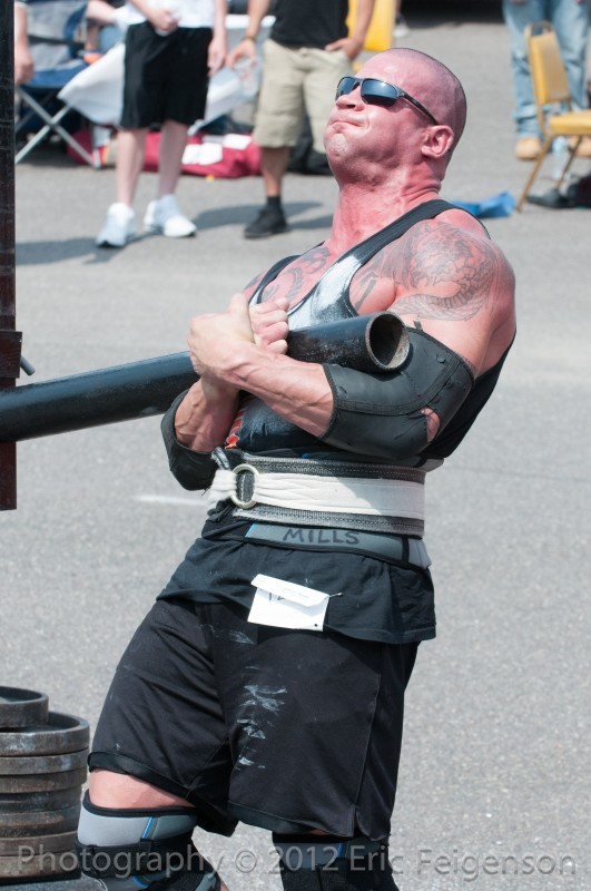 Strongman Programming Close to a Competition: Trust the Taper
