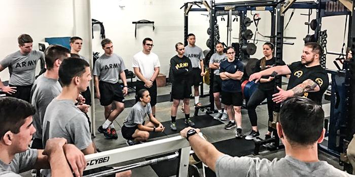 John Carroll University ROTC Seminar — Powerlifting as Military Training