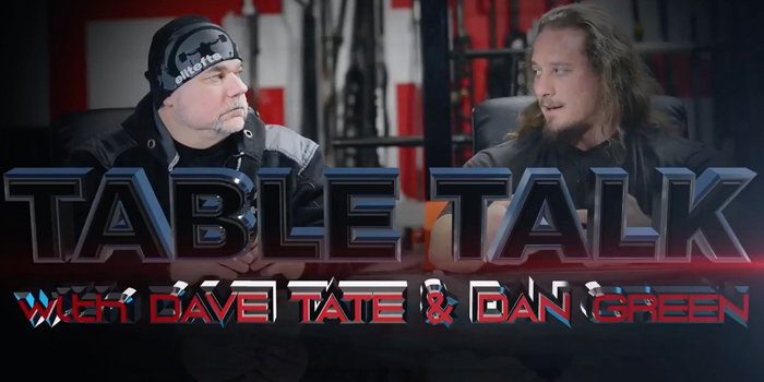 WATCH: Table Talk with Dan Green — Powerlifting Longevity and Meet Strategy