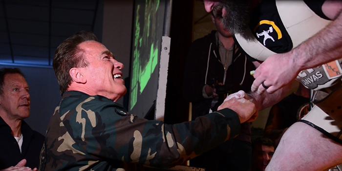 What I Learned from Arnold Schwarzenegger