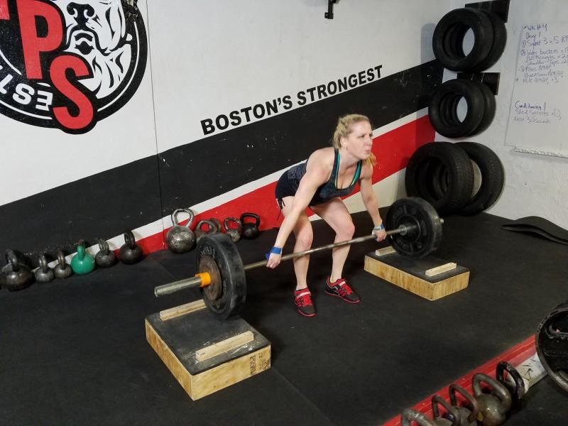 tps, cj murphy, total performance sports, snatch grip deadlift, elitefts; powerlifting;
