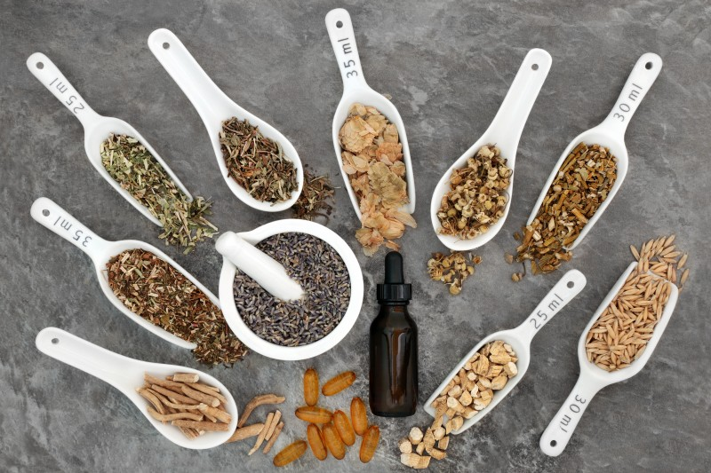 Calming Herb Selection