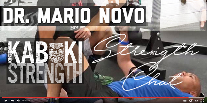 Strength Chat Podcast: Pulling the Veil Off Blood Flow Restriction with Guest Dr. Mario Novo