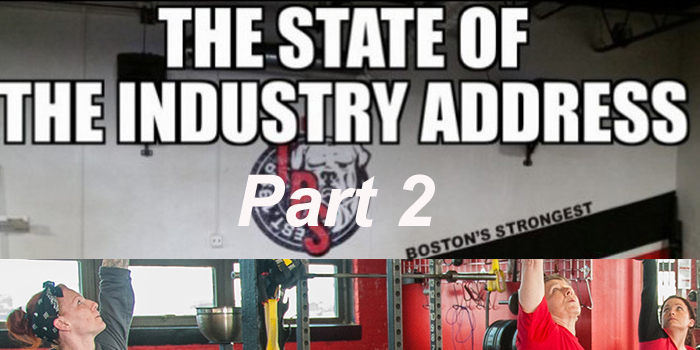 The State of the Industry Address Part 2