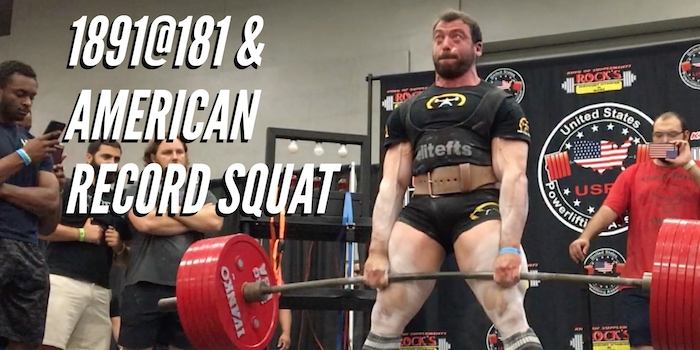 Meet Report: USPA Naturally Fit Games & American Record Squat