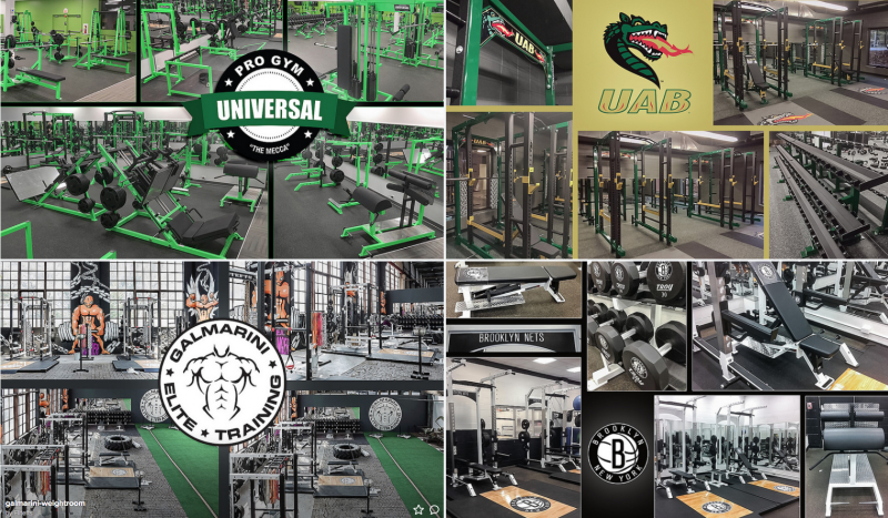 elitefts outfitted gyms
