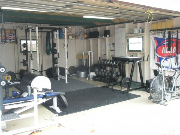 Bare bones home gym more than a bar bench and rack elite fts