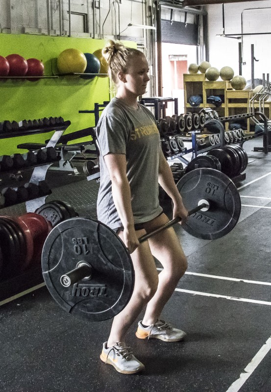 4 - Second Pull AKA Power position