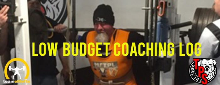 Low Budget Coaching Log
