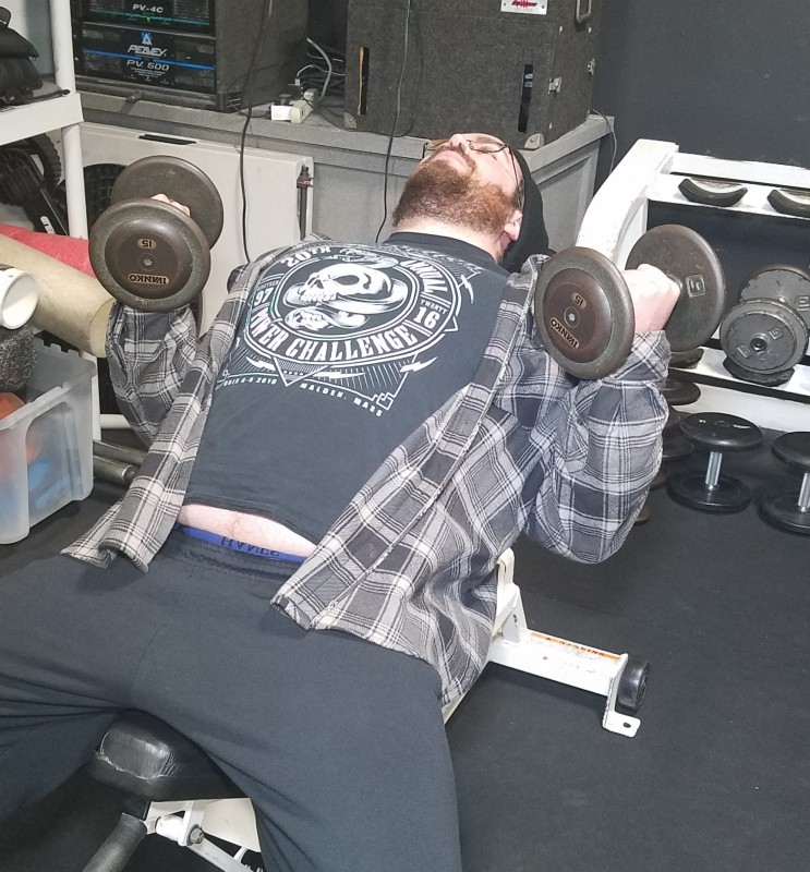 4 Quick Elbow Pain Fixes, C.J. Murphy, Murph, Total PErformance Sports, TPS, EliteFTS, bench press, powerlifting, powerlifters, incline dumbell curl, band hand extensions, leveraging, rotation