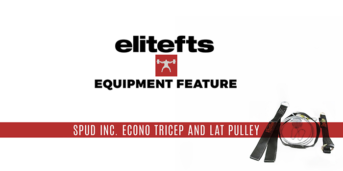 WATCH: Equipment Feature — Spud Inc. Econo Triceps and Lat Pulley