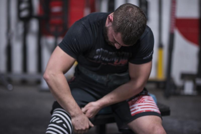 knee wrap motivation