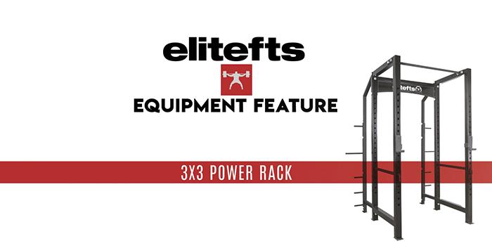 WATCH: Equipment Feature with Steve Diel — elitefts 3x3 Rack