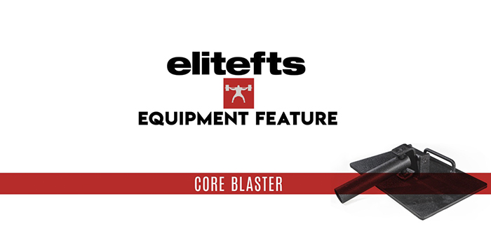 WATCH: Equipment Feature with Steve Diel — elitefts Core Blaster