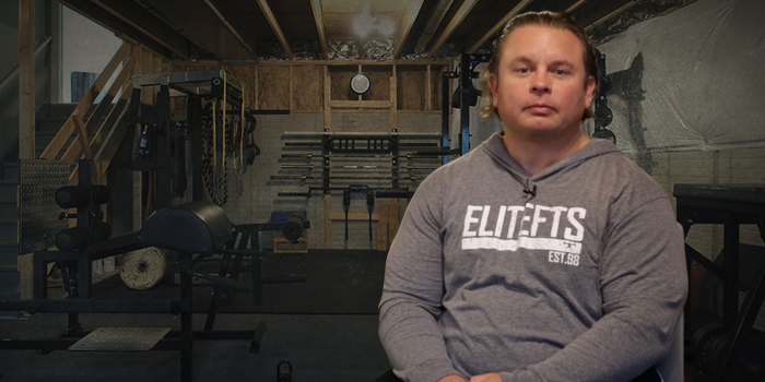 WATCH: Inside the Home Gym of elitefts CFO Steve Diel