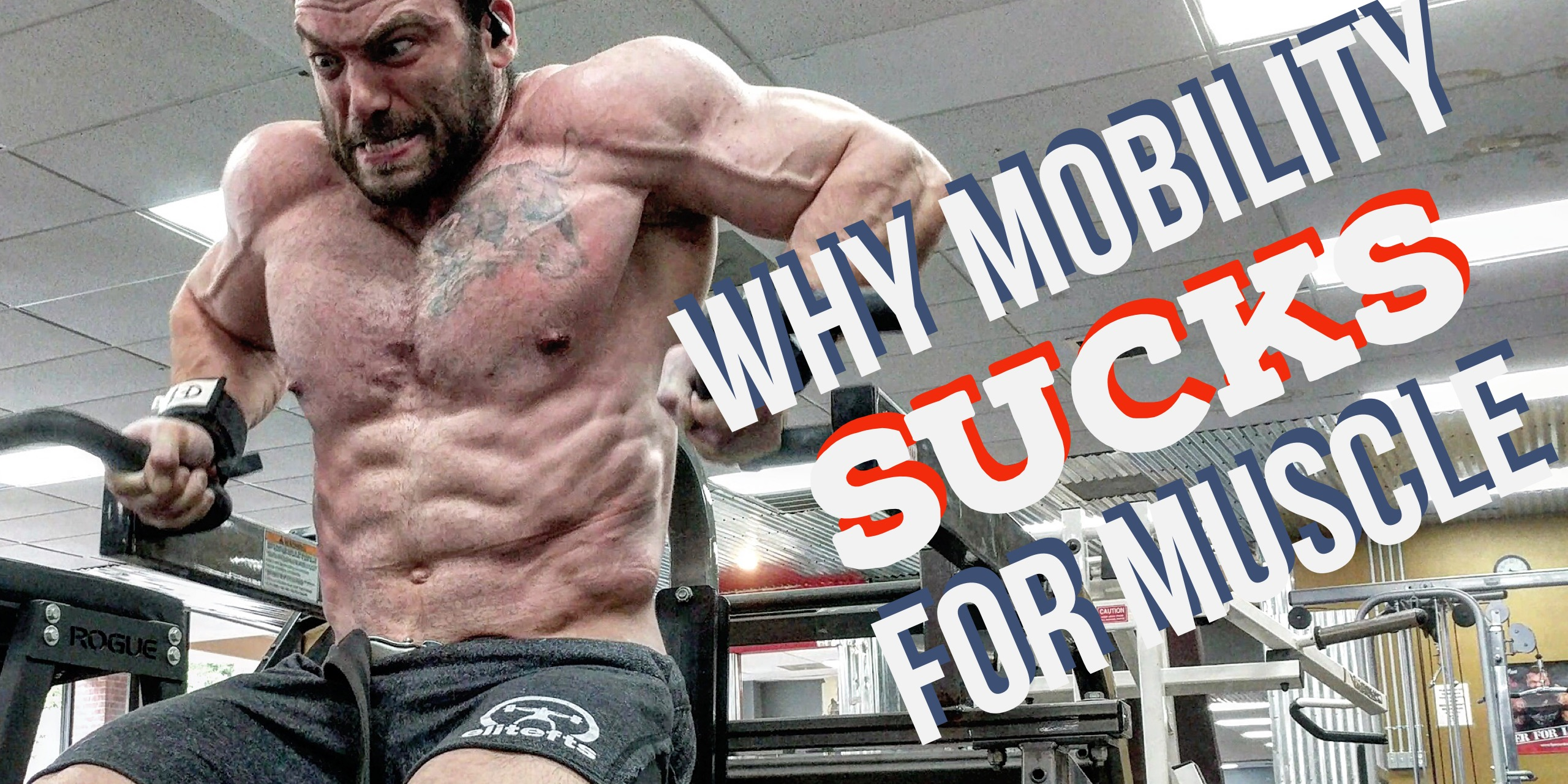 Why Mobility Sucks for Gaining Muscle