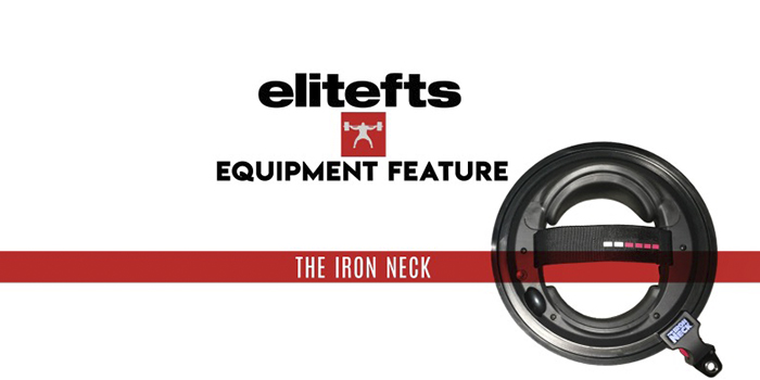 WATCH: Equipment Feature — The Iron Neck and 5 Exercises for Athletes to Perform