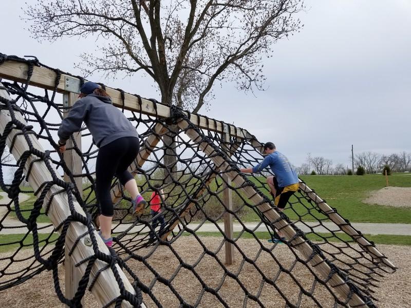 rope climb ACE