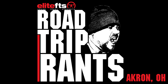 WATCH: Road Trip Rants — Explosive vs. Strong, Trendy Hashtags, and Dave's Transformations