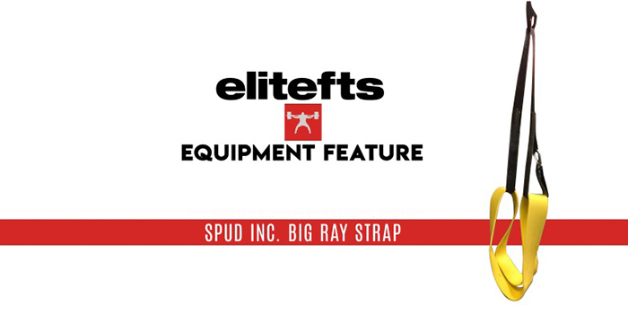 WATCH: Equipment Feature — Spud Inc. Big Ray Strap