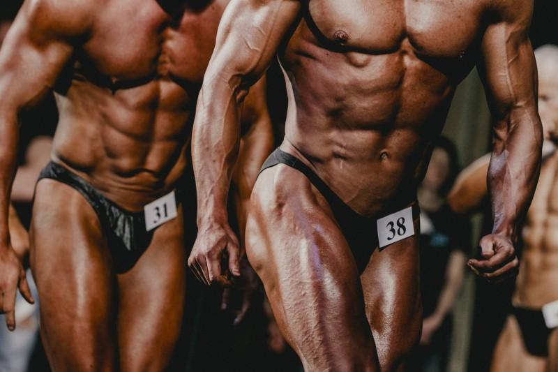 athlete bodybuilder