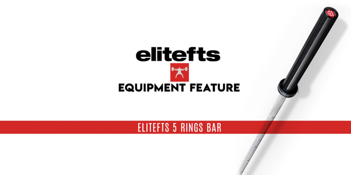 WATCH: Equipment Feature: The elitefts 5 Rings Bar