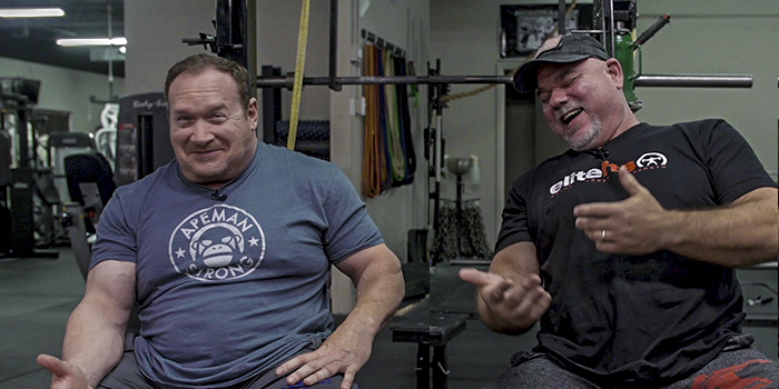 WATCH: Ed Coan and Dave Tate on Their Powerlifting Inspiration