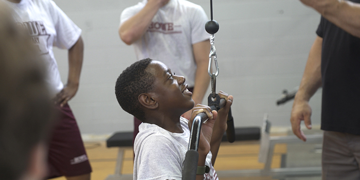 WATCH: Howe Military Academy Strength and Fitness Center