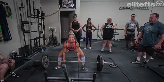 WATCH: Dave Tate and Ed Coan Show the Women How to Deadlift at Omaha Barbell