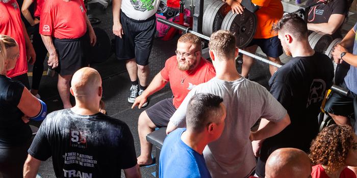 Learn to Train X: Bench Press Warm-Up with Joe Sullivan