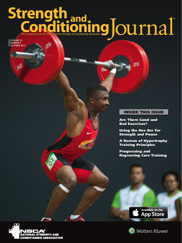 abcs strength and conditioning journal