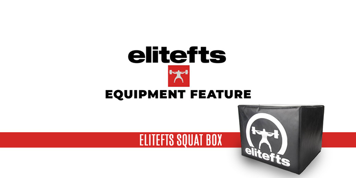 WATCH: Equipment Feature — elitefts Squat Box