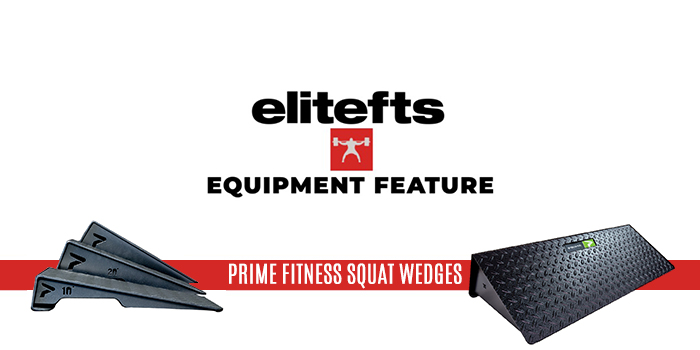 Equipment Feature — PRIME Fitness Squat Wedges