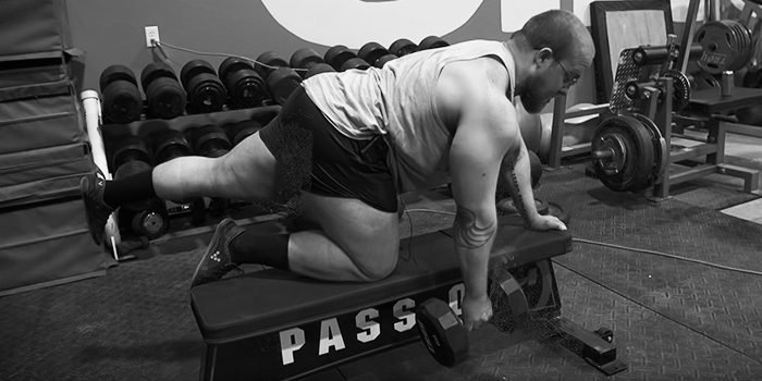 The Quadruped Row Exercise for Lat Isolation Issues