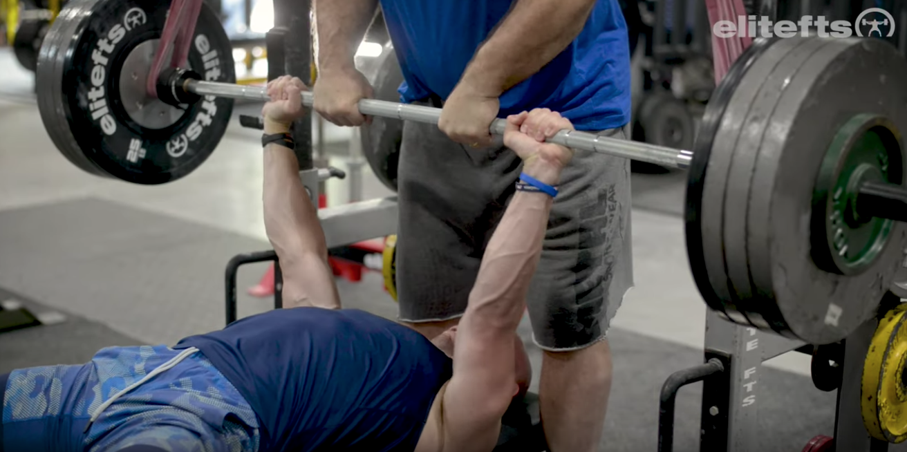 WATCH: How to Properly Do a Bench Press Lift-Off