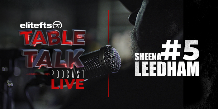 LISTEN: Table Talk Podcast #5 with Sheena Leedham