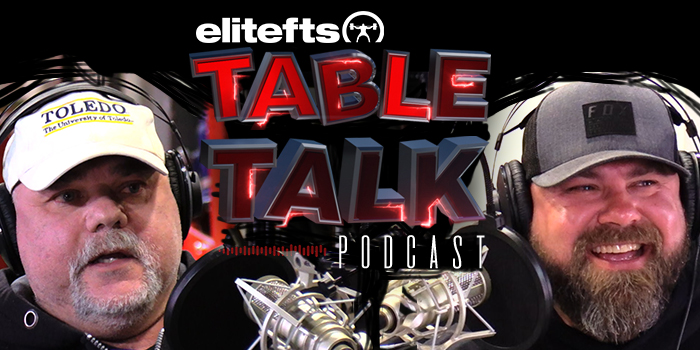 LISTEN: Table Talk Podcast Clip — Jim Wendler's 2-Minute Conjugate Breakdown