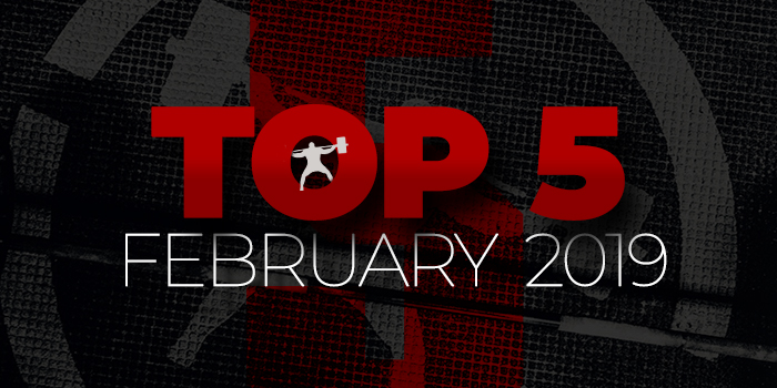Top 5 for February